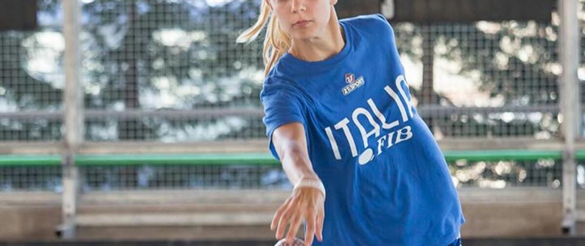 Barbara Zurini trionfa ai campionati italiani di bocce