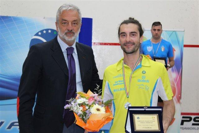 Squash - Mazzega d'argento ai Campionati Italiani Over 35